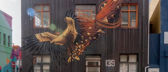 Woodstock street art, best things to do in Cape town