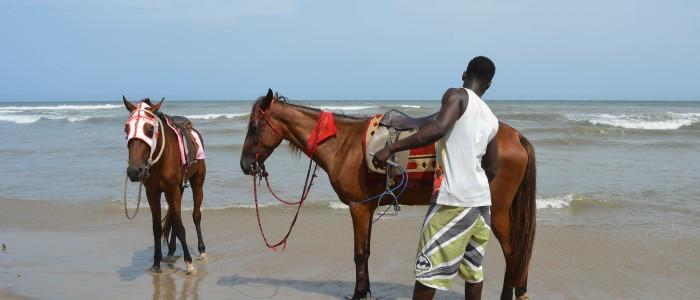 Things to do at Labadi Beach