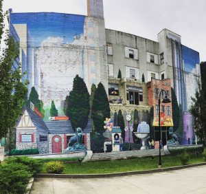 West Virginia largest Mural