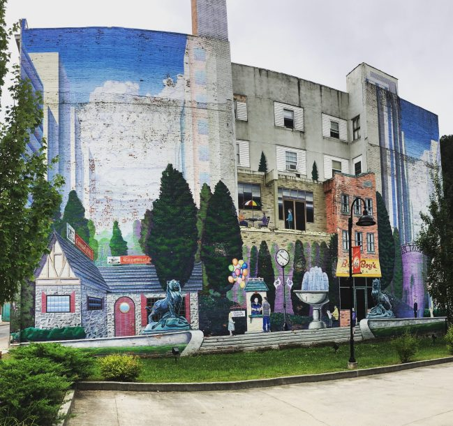 West Virginia largest Mural