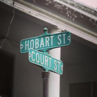 Hobart and court