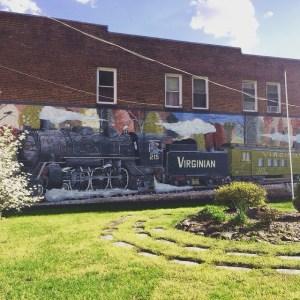 Virginiatrainmural