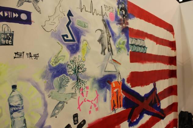 "Melissa E. Logans ""Flags"""