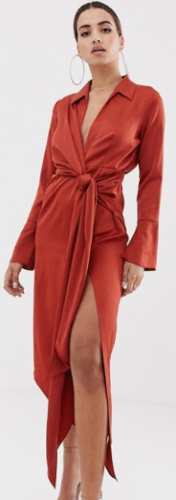 selection-asos-robe-cuivre-orange