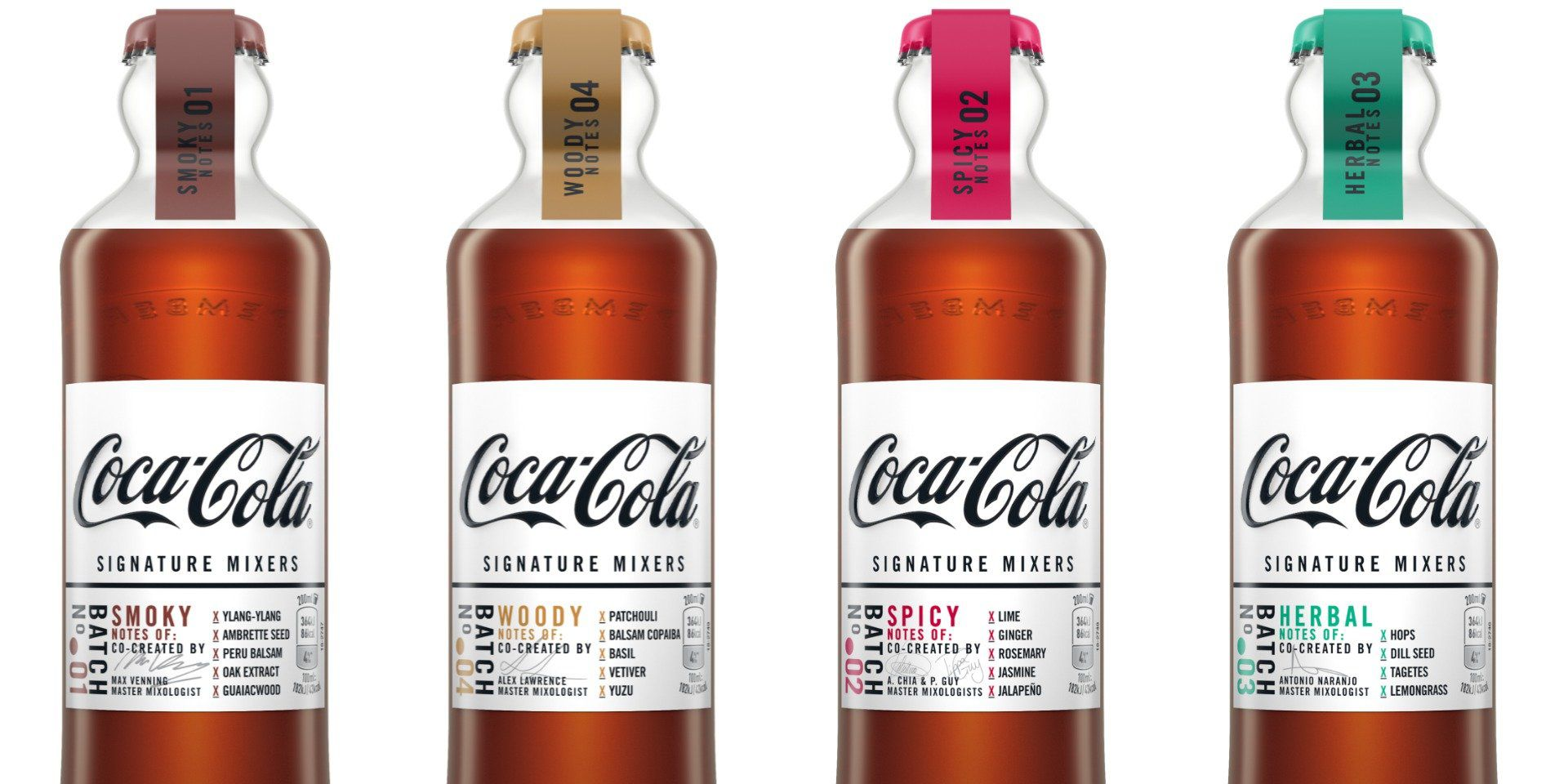 Coca-Cola – Signature Mixers project.