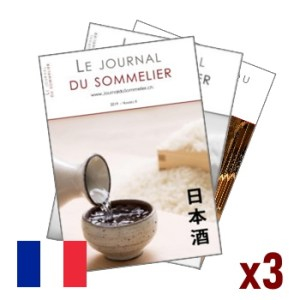 Journal du Sommelier – Abonnement 3 numéros – Edition francophone