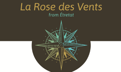 Logo du revendeur du journal du sommelier à Etretat La rose des vents