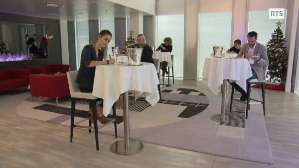 Emission à bon entendeur RTS décembre 2020 vins mousseux Journal du Sommelier