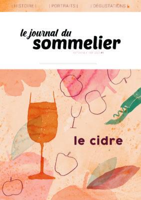 Une du Journal du Sommelier édition sur le cidre