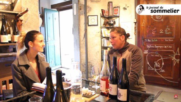 Dans les vignes d'Yvorne avec Anne Müller