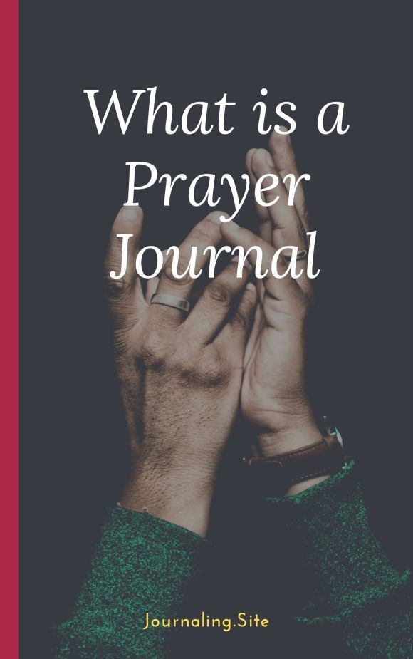 What is a prayer journal