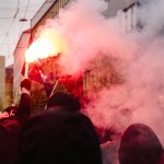 11 05 2019 Pyrotechnik Proteste gegen niedersächsisches Polizeiordnungsgesetz In der niedersä