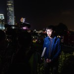 November 9, 2019, Hong Kong, China: Joshua Wong is being interviewed during the memorial ceremony..Entering the 5th mont