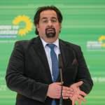 Politik Fraktion Buendnis 90 Die Gruenen Der Vorsitzende des Zentralrat des Muslime in Deutschland