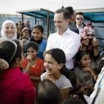 Bundesaussenminister Heiko Maas SPD besucht das Fluechtlingslager Al Azraq in Jordanien 05 04 201