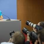 Deutschland, Berlin, Bundespressekonferenz, Buchpräsentation mit der Kapitänin und Aktivistin Carola Rackete, 30.10.2019