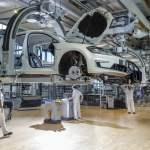 Elektrifizierungsoffensive von VW DEU/Sachsen/ Dresden: Das neue Elektrofahrzeug ID.3 von Volkswagen wird künftig auch i