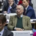 Deutschland, Braunschweig, 10. Bundesparteitag der AfD, Alexander Gauland, 30.12.2019 *** Germany, Brunswick, 10 Federal