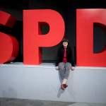Saskia Esken, SPD DEU, Deutschland, Germany, Berlin, 08.12.2019 Saskia Esken, die neue Parteivorsitzende der SPD, vor de