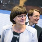 Berlin, Sitzung der spd Fraktion Deutschland, Berlin – 10.12.2019: Im Bild ist Saskia Esken (Parteivorsitzende SPD) vor