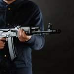 Kalaschnikow Gewirr AK47