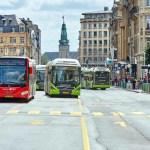 Luxemburg Luxembourg 16 08 2019 Ab 1 März 2020 sind in ganz Luxemburg Bahn Bus und Tram für