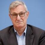 Bernd Riexinger 2019-10-28, Berlin, Deutschland Bundespressekonferenz: Nachlese der Landtagswahl in Thüringen. Im Bild B