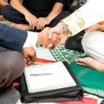 islamische Hochzeit