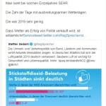 Kachelmann versus Seibert (Bild: Twitter)