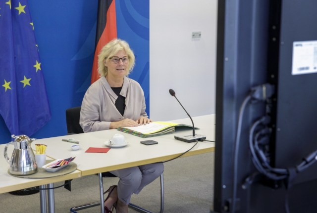 Bundesjustizministerin Christine Lambrecht (Foto:Imago/photothek)
