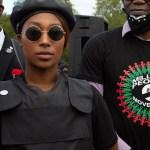 August 30, 2020, London, United Kingdom: Sasha Johnson Co-organiser of the Million People March and Black Lives Matter
