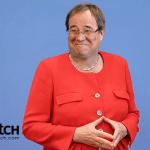 Armin Laschet als Merkel; Foto: © jouwatch Collage