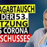 Corona Ausschuss Sitzung 53   Füllmich vs Von Bülow Schlagabtausch; Bild: Startbild Youtube