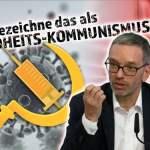 """""""Grüner Pass"""" ist Gesundheitskommunismus; Bild: Startbild Youtube"""