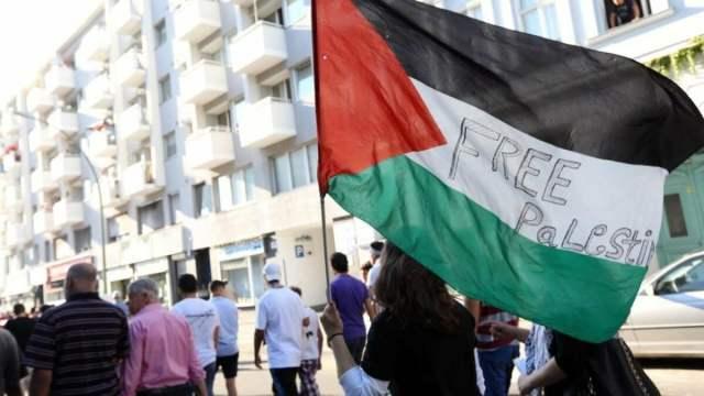 ? LIVE aus Berlin: Pro-Palästina-Demo gegen Gewalteskalation in Gaza; Bild: Startbild Youtube