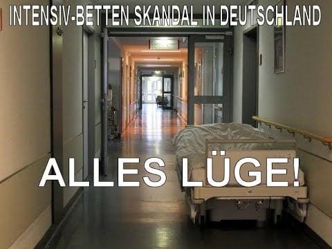 Alles Lüge - Der Intensiv-Betten Skandal (Divi-Gate); Bild: Startbild Youtube