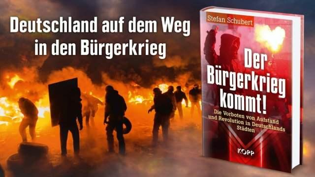 Deutschland auf dem Weg in den Bürgerkrieg | Stefan Schubert; Foto: Startbild Youtube
