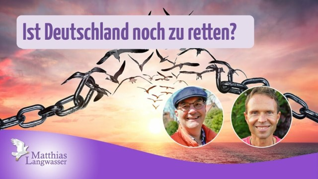 Ist Deutschland noch zu retten? – Interview mit Peter Denk; Bild: Startbild Youtube