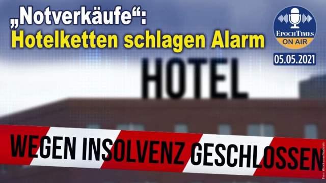 """""""Notverkäufe"""": Hotelketten schlagen Alarm; Bild: Startbild Youtube"""