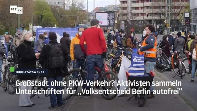 Großstadt ohne PKW-Verkehr?