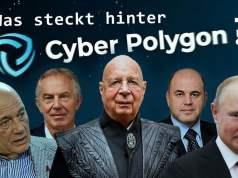 CYBER POLYGON 2020: War es das Event 201 für eine globale «Cyber-Pandemie»?; Bild: Startbild Youtube