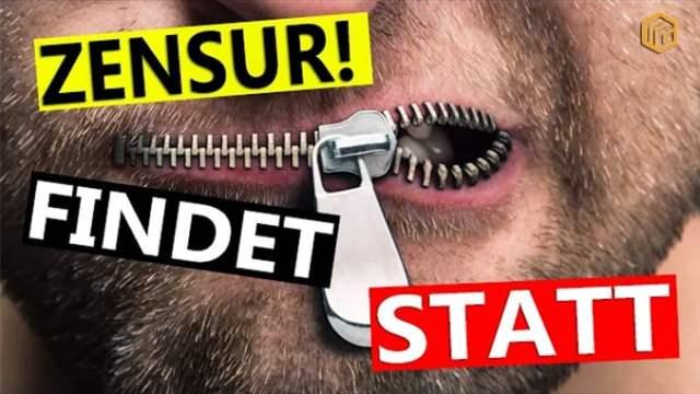 ? Noch mehr Zensur? Wer wird bald gelöscht?; Bild: Startbild Youtube