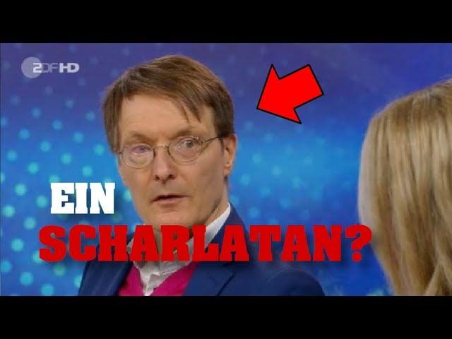 Alles nur geschätzt? Ist Lauterbach ein Scharlatan?;Bild: Startbild Youtube