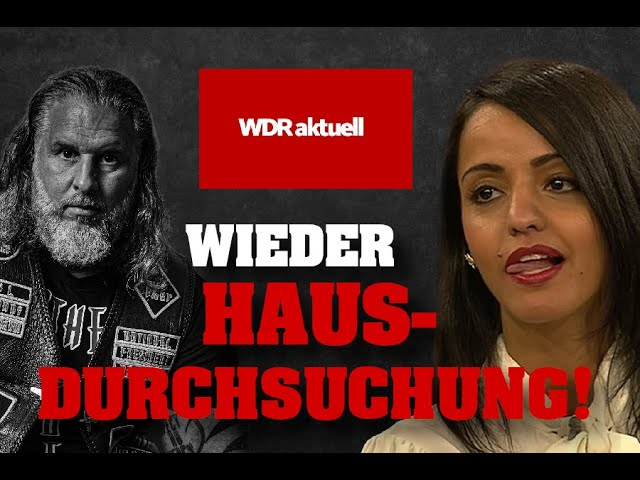 Hausdurchsuchung bei Tim Kellner wegen Sawsan Chebli/WDR!; Bild: Startbild Youtube