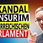 Skandal im österreichischen Parlament: Kickl sagt die Wahrheit – Mikro abgestellt!; Bild: Startbild Youtube