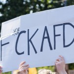 Protestors,Demonstrating,Against,Afd,,A,Populist,,Racist,,Nationalist,And,Right-wing