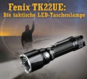 Die Leuchte, die im Notfall auch als Glasbrecher oder zur effektiven Selbstverteidigung genutzt werden kann.