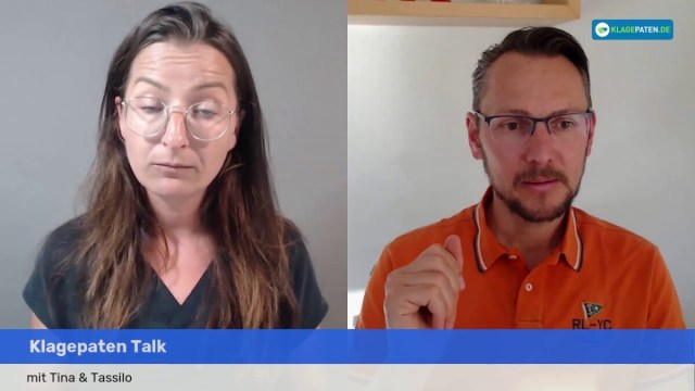 ? Klagepaten LIVE:️ Zwangstestung - Existenz-Vernichtung - Verfassungsschutz - Quo Vadis Pandemie; Bild: Startbild Youtube