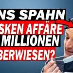 ?  Jens Spahn wird von der AfD geröstet; Bild: Startbild Youtube