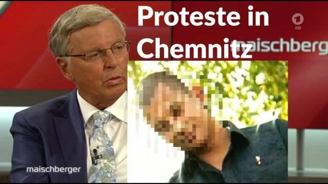 Bestialischer Mord in Chemnitz - Presse u. Altparteien hetzen gegen Proteste; Bild: Startbild Youtube
